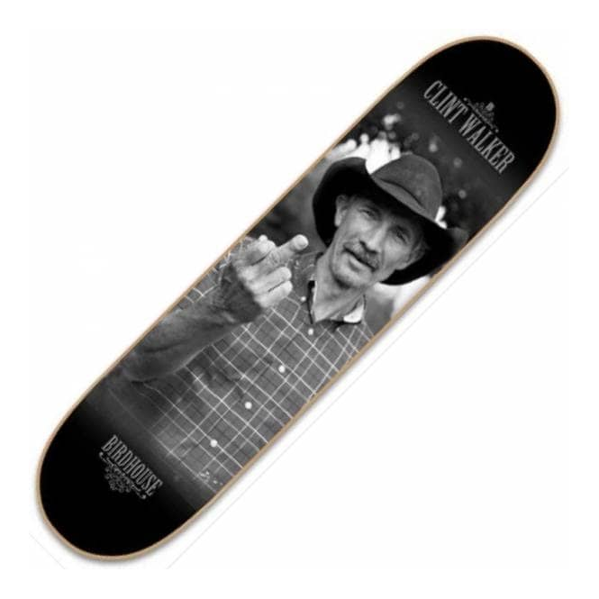 Birdhouse Birdhouse Clint Walker Finger Skateboard Deck 8.5''