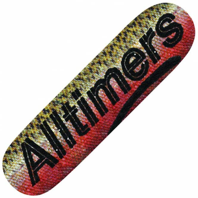 Alltimers Black Caviar Logo Skateboard Deck 8.5