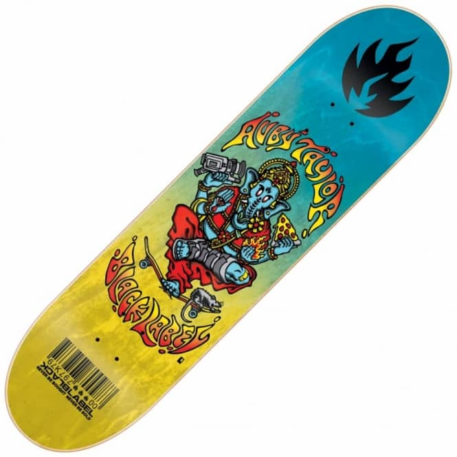 Black Label Skateboards Auby Taylor Focus Skateboard Deck 8.25