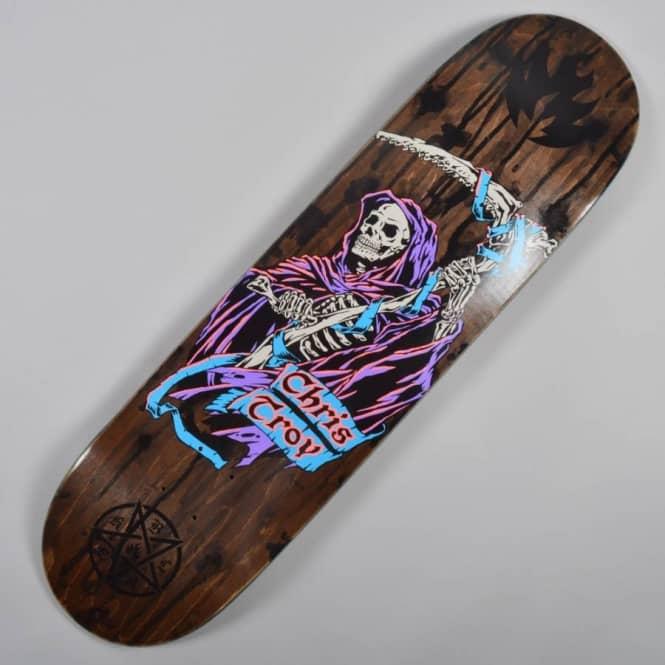 Black Label Skateboards Chris Troy Blood+Guts 2 Skateboard