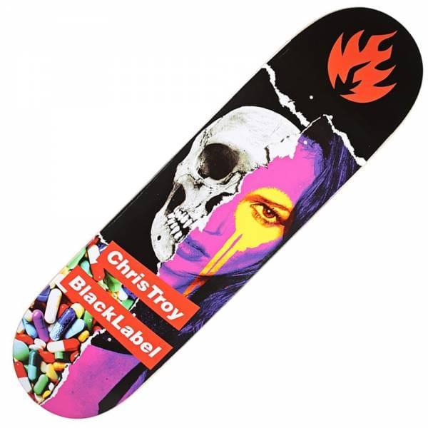 Black Label Skateboards Chris Troy Faded Beauty Skateboard