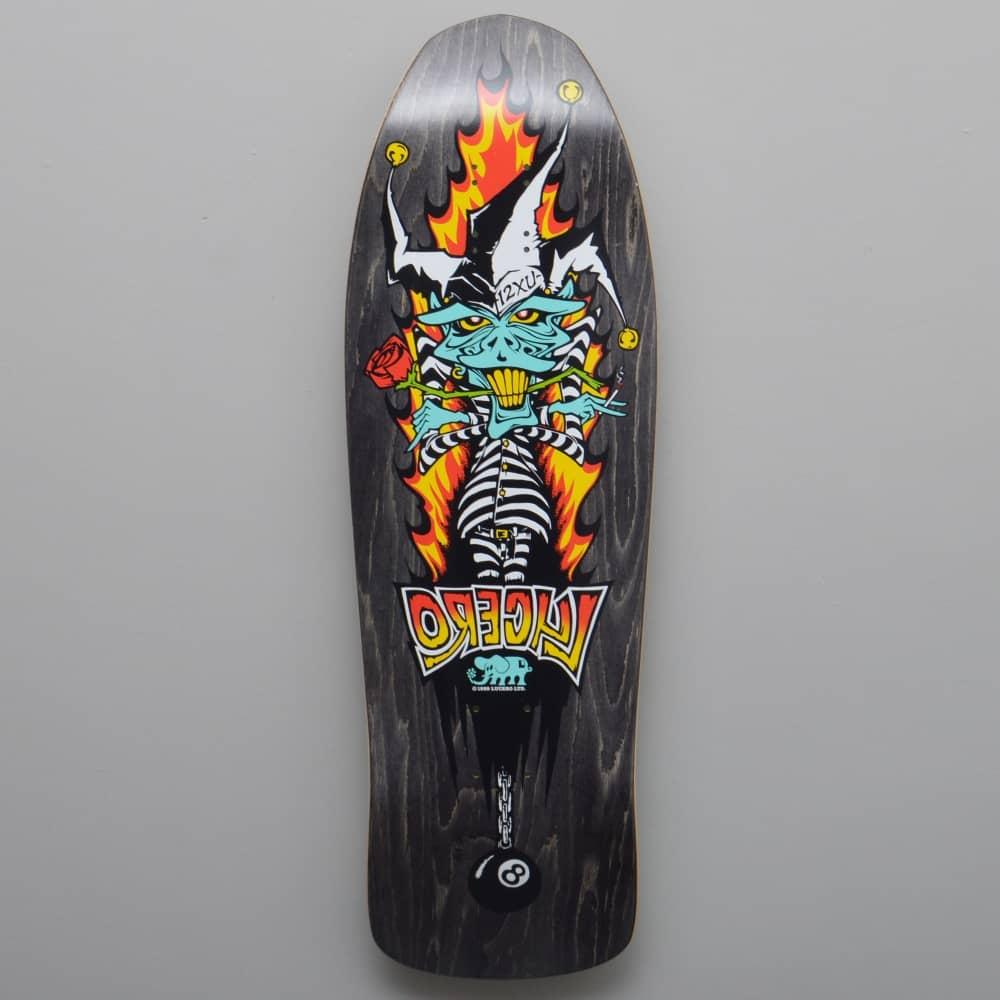 John Lucero 12XU Custom (Black Stain) Skateboard Deck 10 12