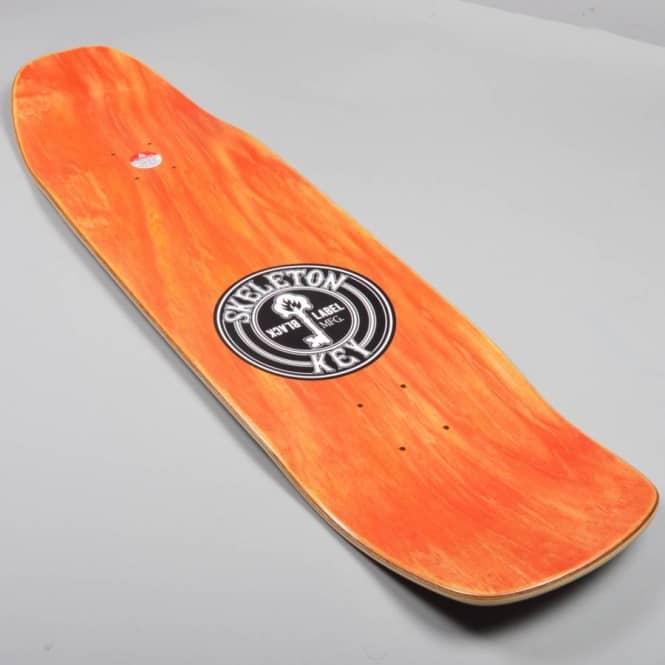 Navarrette Skeleton Key Custom Skateboard Deck 9 0