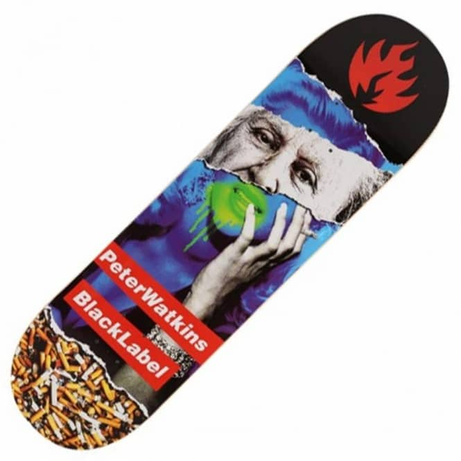 Black Label Skateboards Peter Watkins Faded Beauty Skateboard Deck 8.7''
