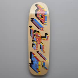 Blast Skateboards Project #5 Dan Singer Custom Shape Skateboard Deck 9.5""
