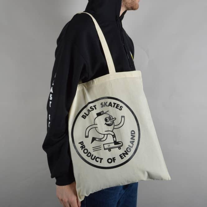 Blast Skateboards Blast Tote Bag - Natural