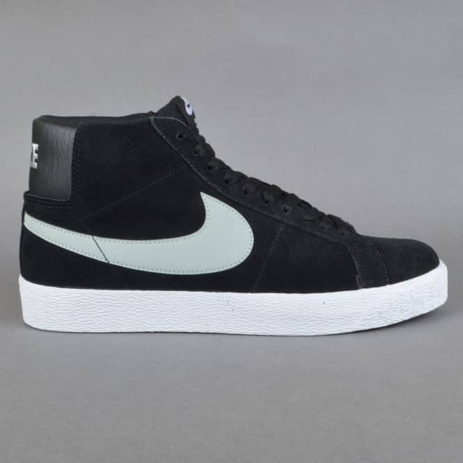 Nike SB Blazer SB Premium SE Skate Shoes - Base Grey/Black-White
