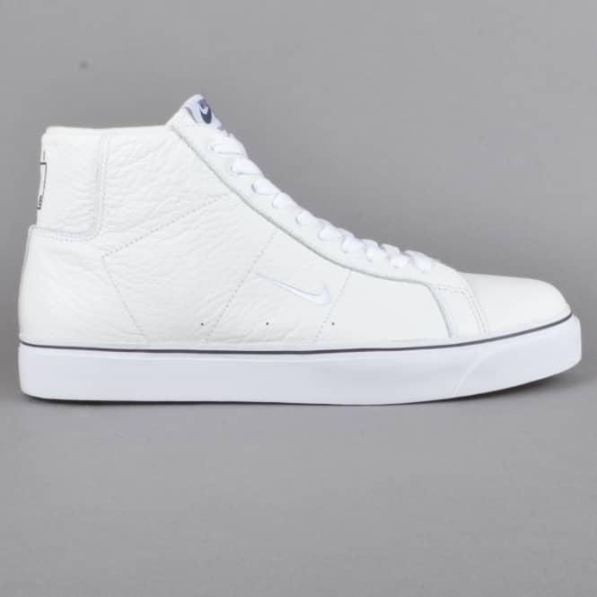 563e0b600ee0 Nike SB Blazer Zoom Mid QS WKND Skate Shoes - Summit White White ...