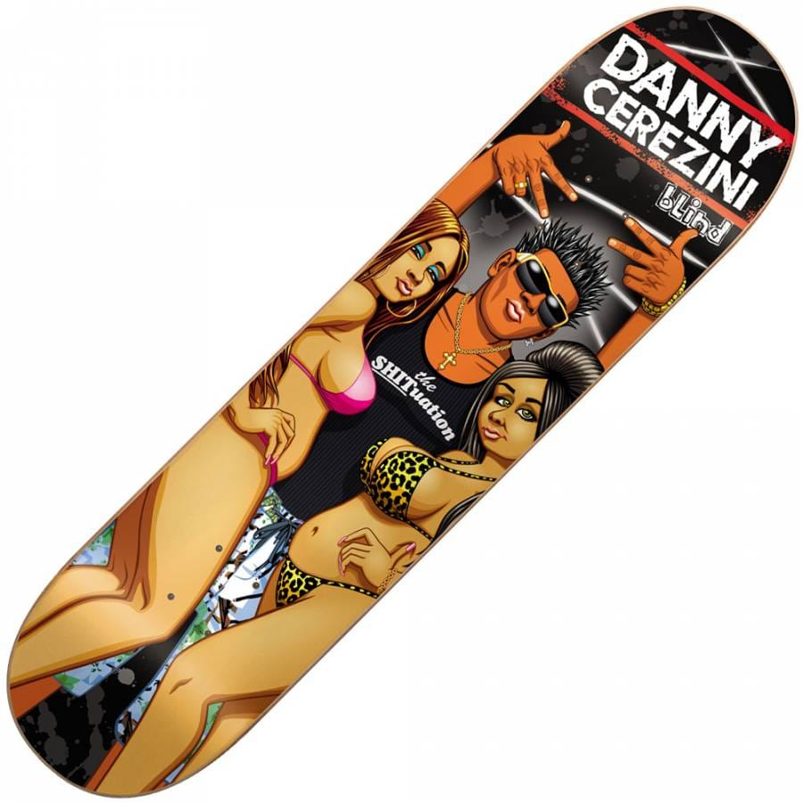 Blind Skateboards Blind Danny Cerezini Brazillian Shore ...