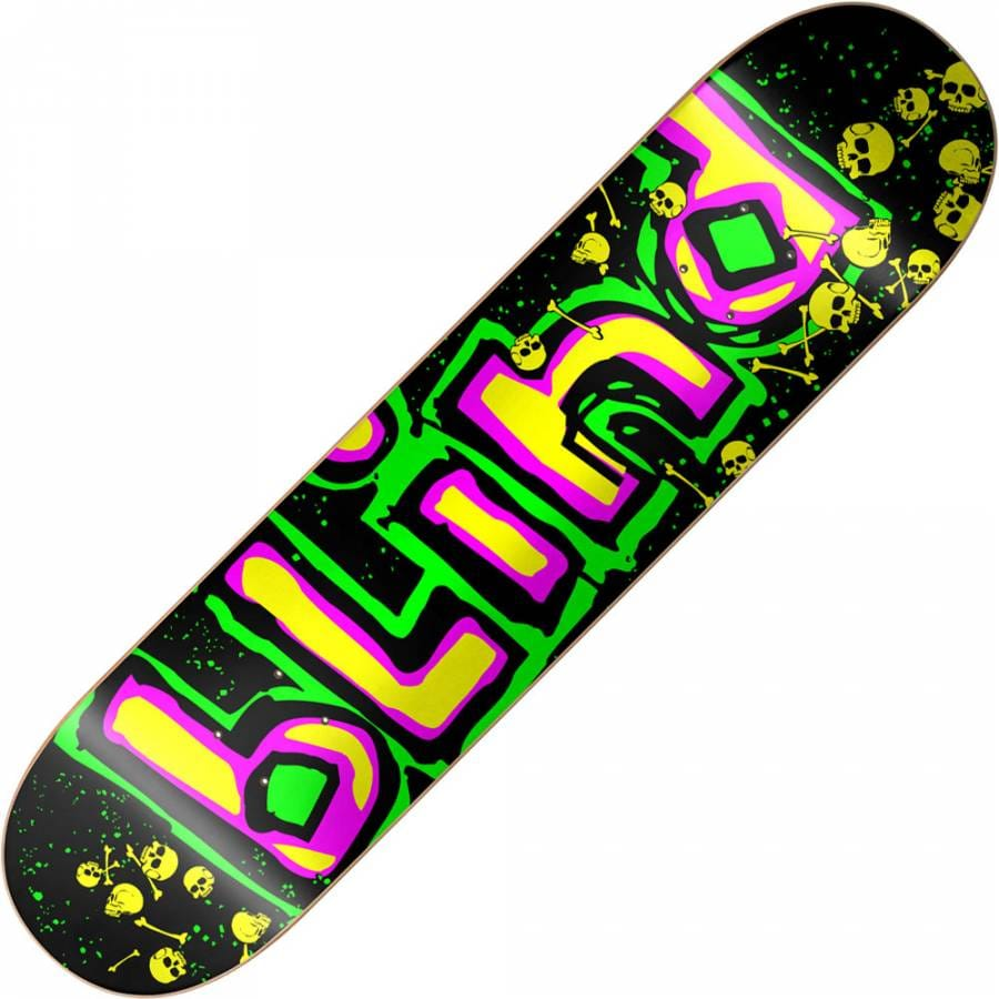 "Blind Skateboards Blind Neon OG Logo Deck 7.9"" - Blind ..."