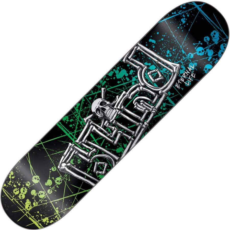 Blind Skateboards Blind Eternal Life Skull And Bones Deck ...