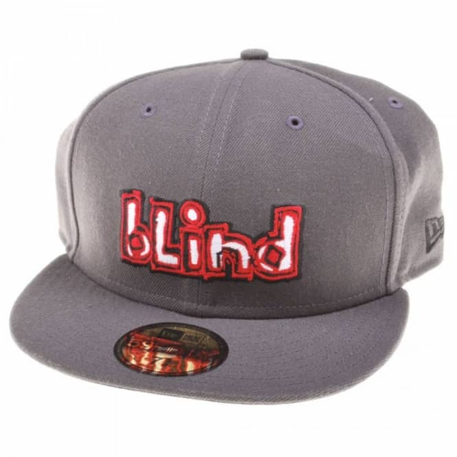 Blind Skateboards Blind OG Charcoal New Era Cap - Caps from Native Skate  Store UK b34d3f42b50
