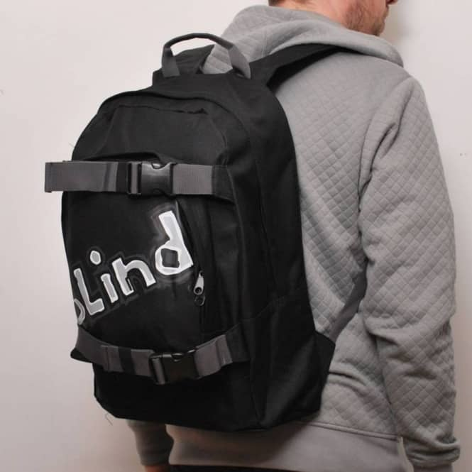 d519d13ea289 Blind Skateboards Blind Old Skool Skate Backpack Black - Skate ...