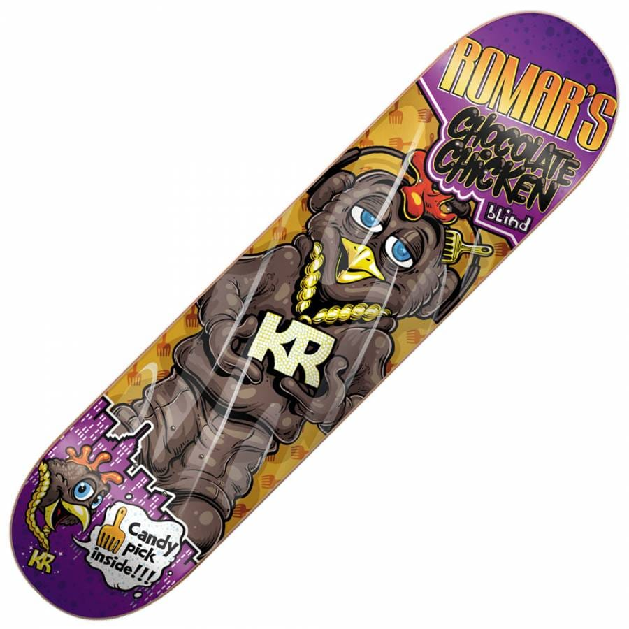 Blind Skateboards Blind Romar Munchies Skateboard Deck 7.9 ...