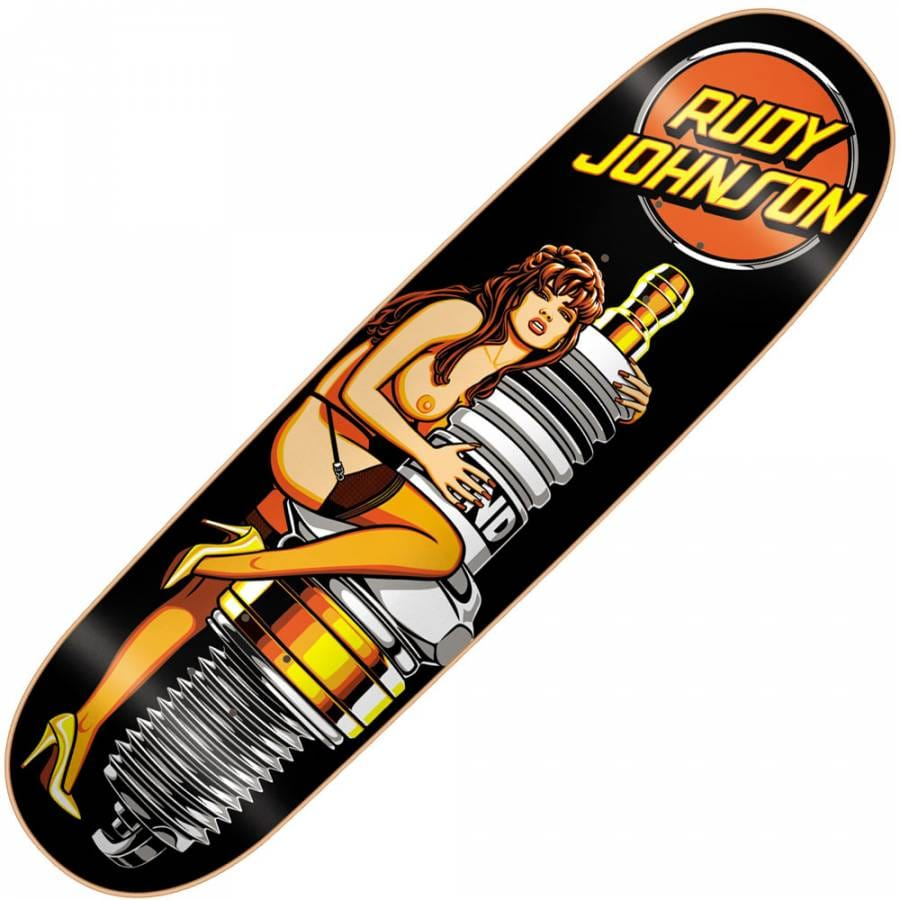 Blind Skateboards Blind Rudy Johnston Sparkplug Re-Issue ...