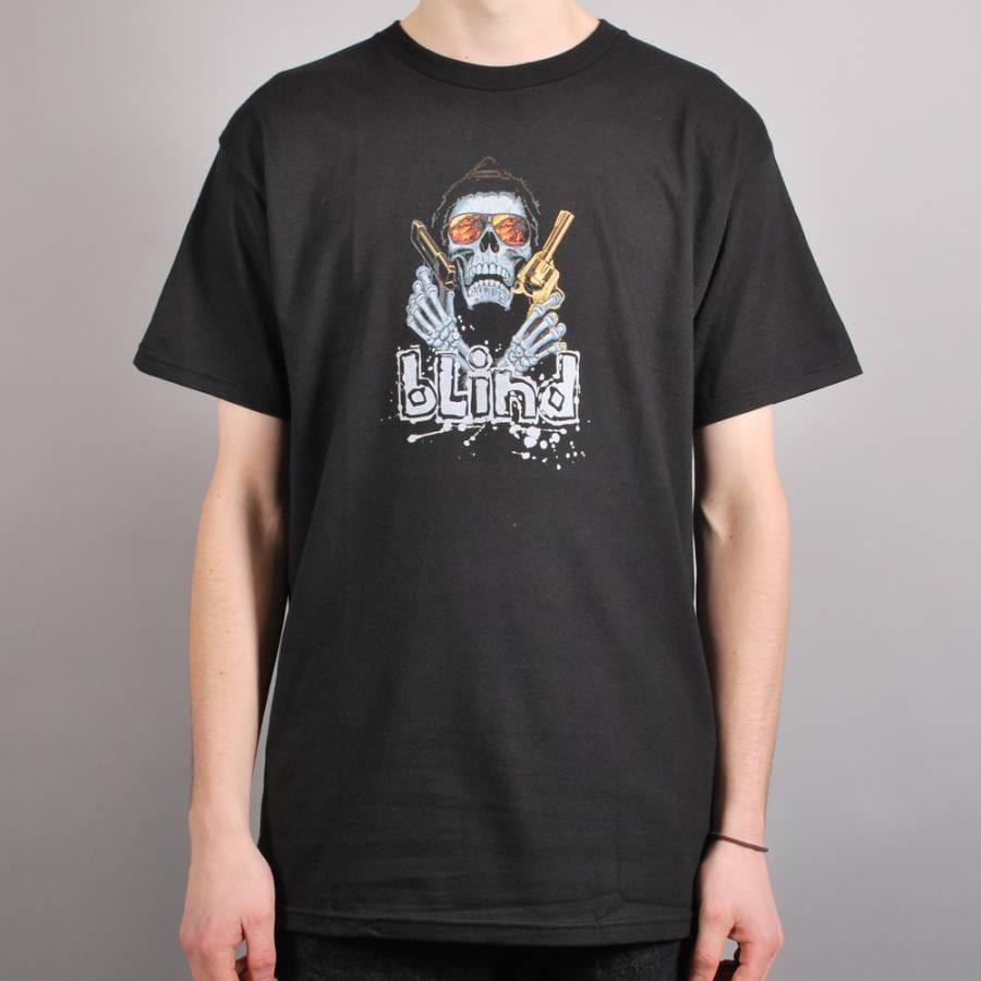 Blind Skateboards Blind Avenger Skate T Shirt Black