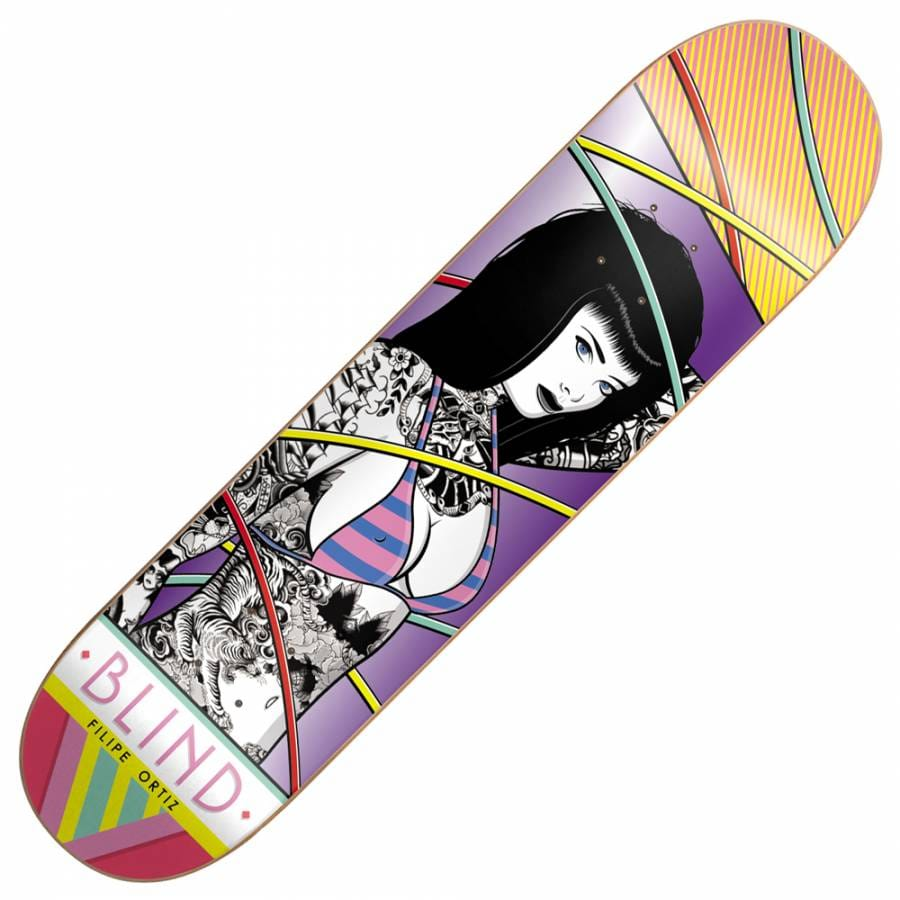 Blind Skateboards Blind Filipe Ortiz Girl Skateboard Deck ...