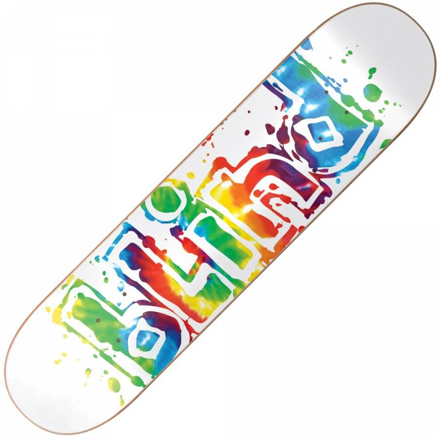Blind Skateboards Blind Tripped Out White Deck 7.75 ...