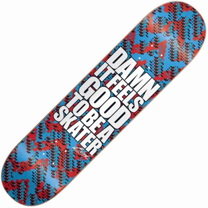 Blind Skateboards Damn Glitch Super Saver Skateboard Deck 8.25