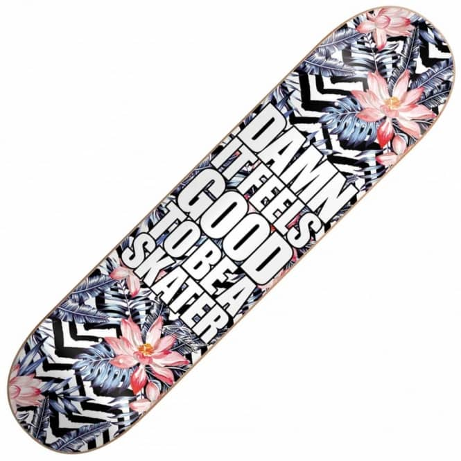 Blind Skateboards Damn Plantlife Super Saver Black/White Skateboard Deck 8.0