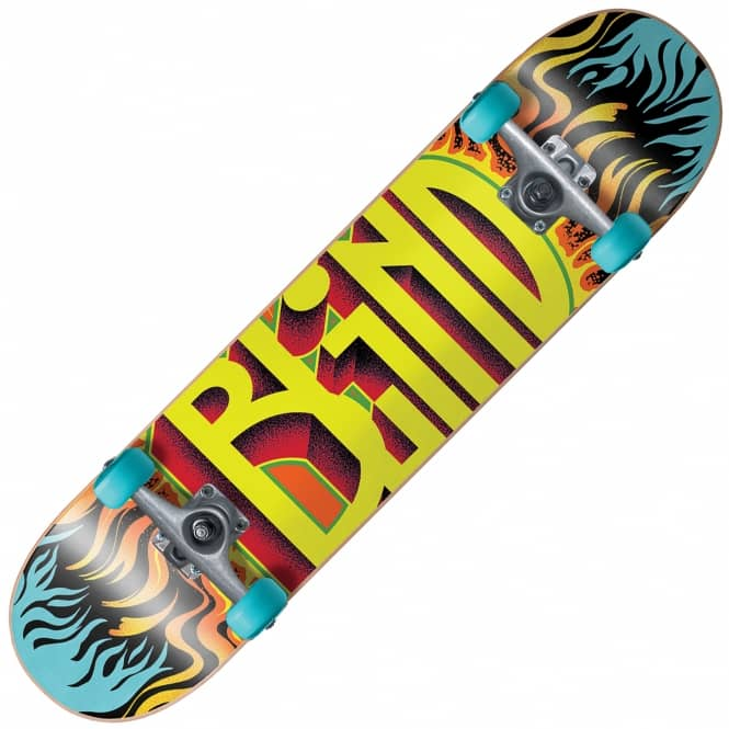 Blind Skateboards Fuego Youth Mini Complete Skateboard 7.0