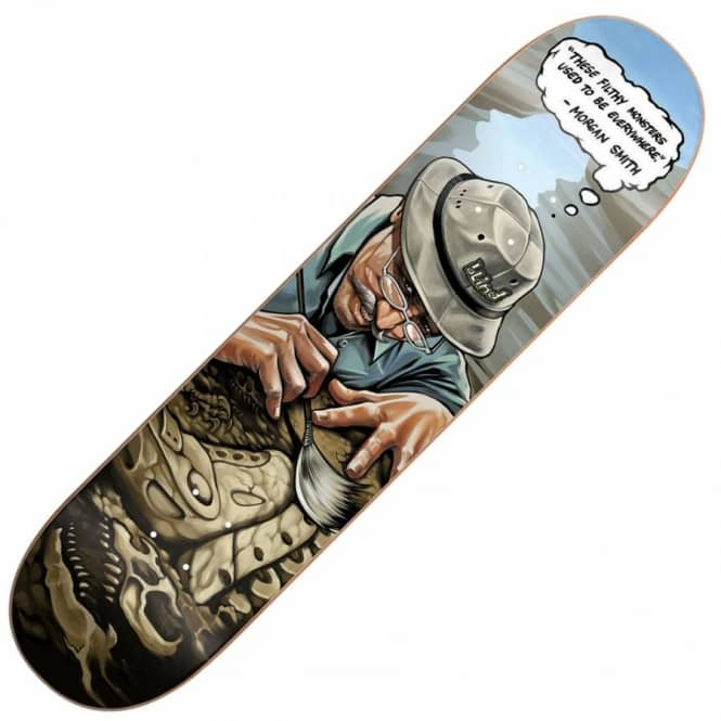 Blind Skateboards Morgan Smith Extinct Skateboard Deck 8.25''