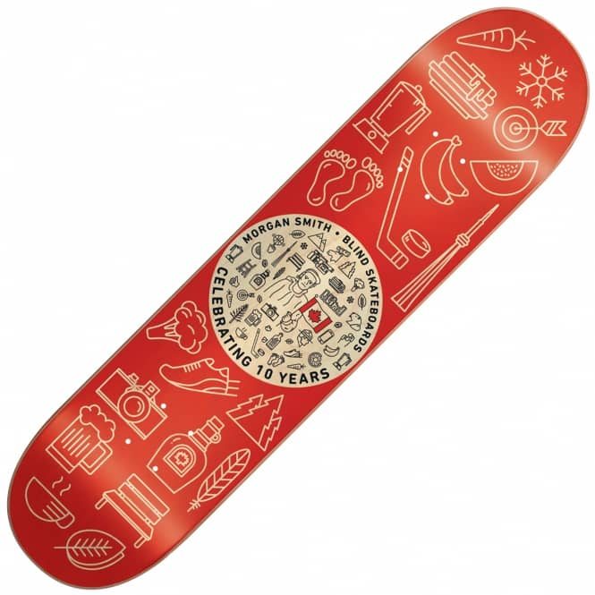 Blind Skateboards Morgan Smith Icons Skateboard deck 8.25