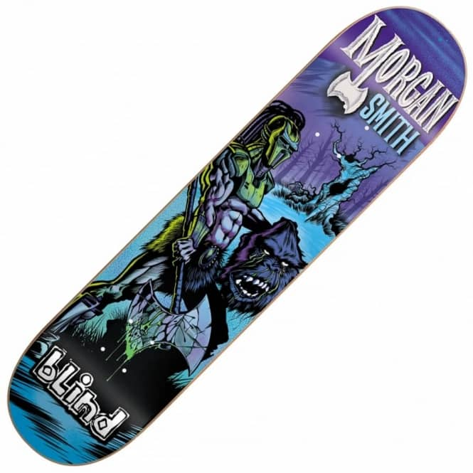 Blind Skateboards Morgan Warrior Skateboard Deck 8.25