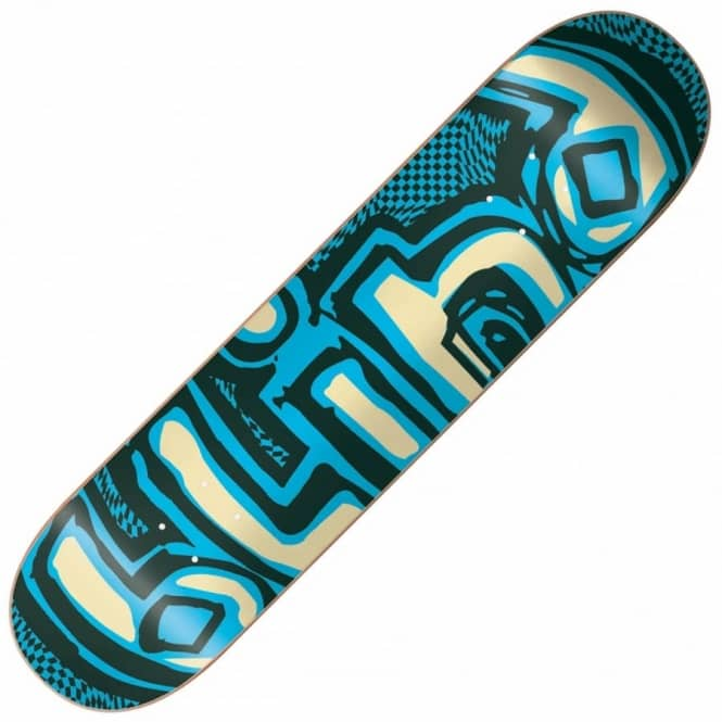 Blind Skateboards OG Warped Super Saver Green/Blue Skateboard Deck 7.75