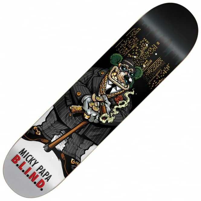 Blind Skateboards Papa Big Papa Skatebaord Deck 8.0