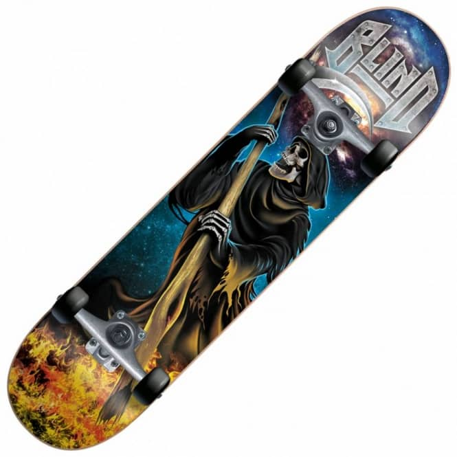Blind Skateboards Reaper Attack Complete Skateboard 7.75