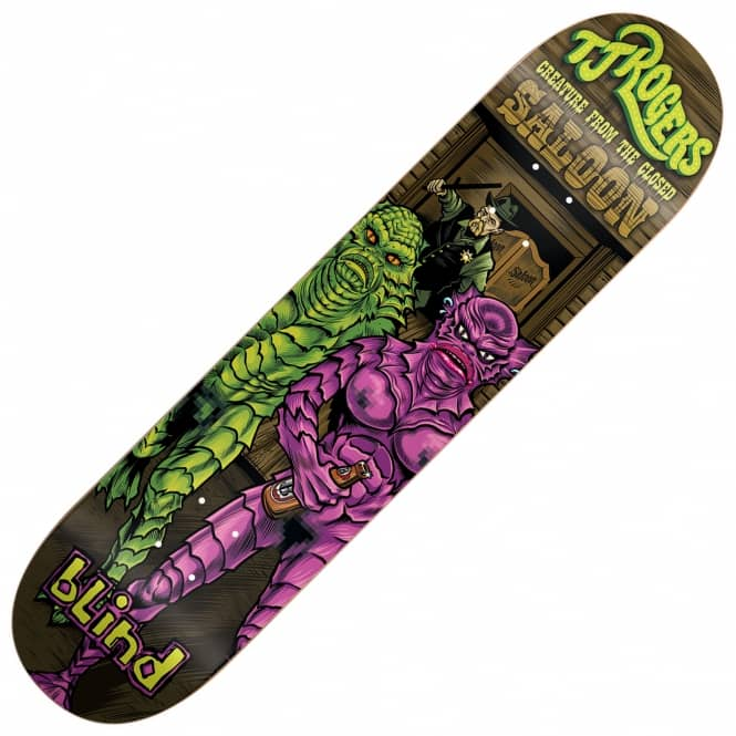 Blind Skateboards Rogers Party Monster Skateboard Deck 8.25