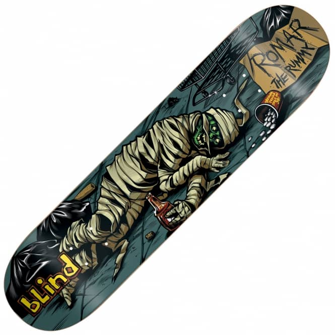 Blind Skateboards Romar Party Monster Skateboard Deck 8.0