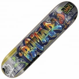 Romar Train Tag Skateboard Deck 7.75