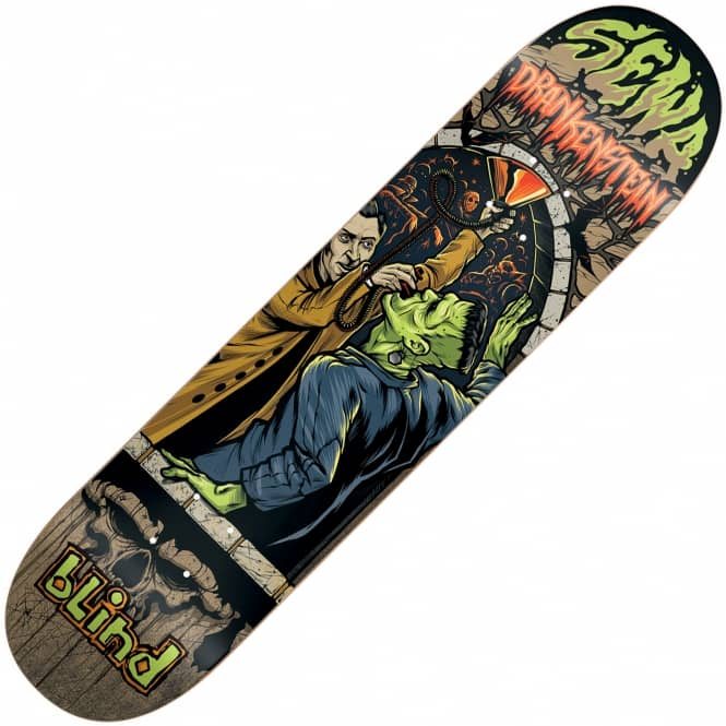 Blind Skateboards Sewa Party Monster Skateboard Deck 7.75