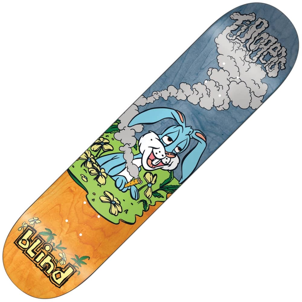 Blind Skateboards TJ Rogers TJ Nuggs Skateboard Deck 8.0 ...