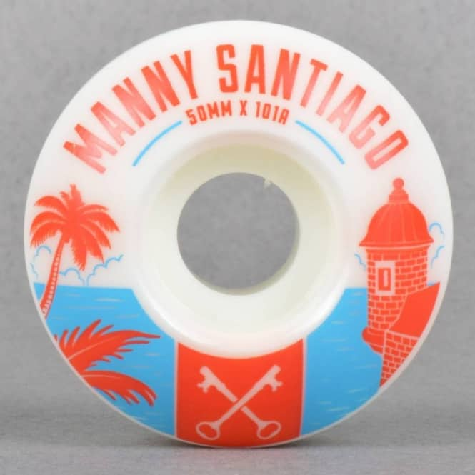 Bliss Wheels Bliss Manny Santiago MSA Pro Skateboard Wheels 50mm
