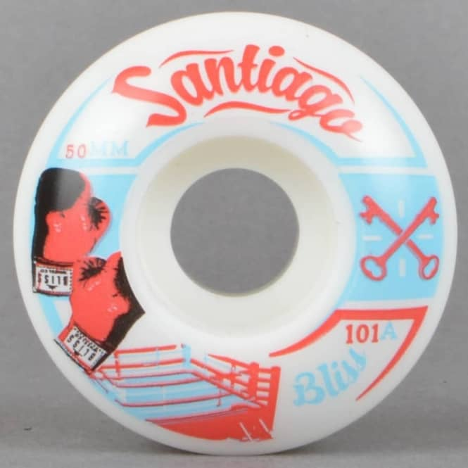 Bliss Wheels Manny Santiago Knock Out Skateboard Wheels 50mm