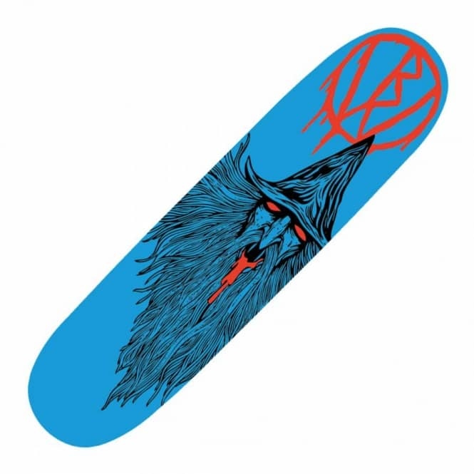 Blood Wizard Blood Wizard Blue Wizard Skateboard Deck 8.5