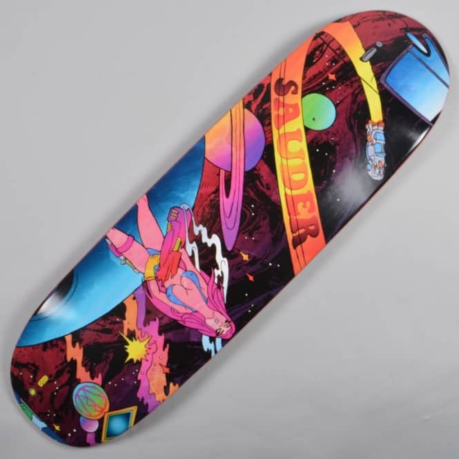 Blood Wizard Keegan Sauder Fubar Custom Skateboard Deck 9.125
