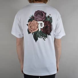 Bloom Skate T-Shirt - White
