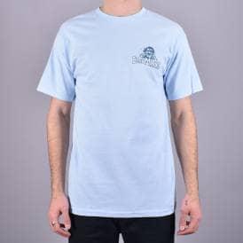 Anti Hero SKATEBOARD COMPANY Skateboard T Shirt HEATHER RED//CAMO LARGE