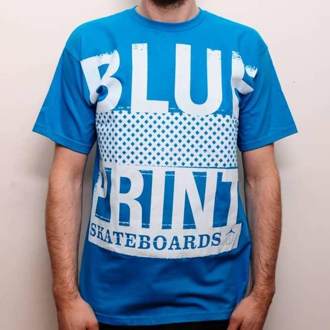 Blueprint skateboards blueprint quiet as kept t shirt cyan skate blueprint skateboards blueprint quiet as kept t shirt cyan skate clothing from native skate store uk malvernweather Gallery