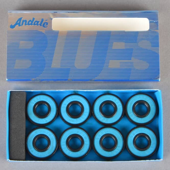 Andale Bearings Blues Skateboard Bearings
