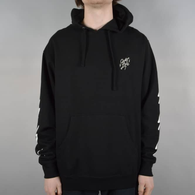 The Quiet Life Bolt Pullover Hoodie - Black