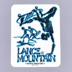 Bones Brigade Mountain Skateboard Sticker - Assorted