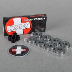 Bones Wheels Bones Swiss Ceramics Skateboard Bearings