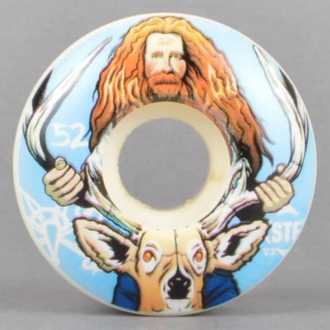 Bones Wheels Haslam Broncanus V3 STF Skateboard Wheels 52mm