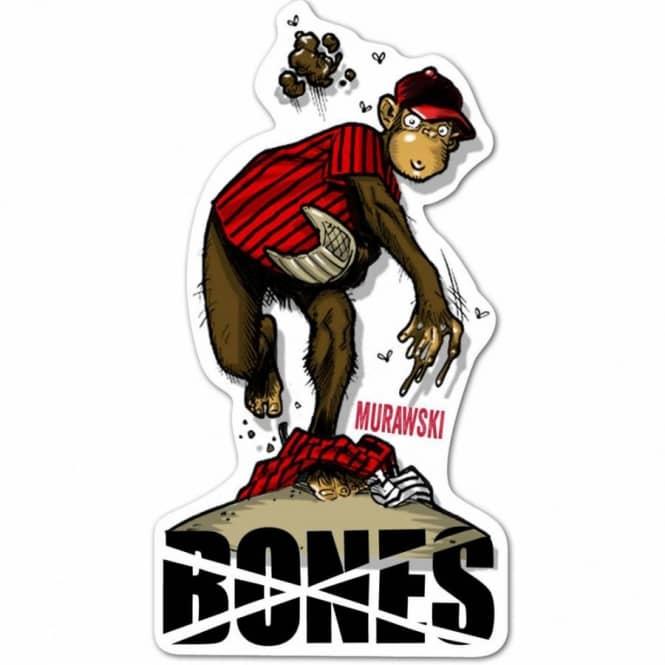 Bones Wheels Murawski Spitball Skateboard Sticker - ACCESSORIES from ... dbd7e99c483