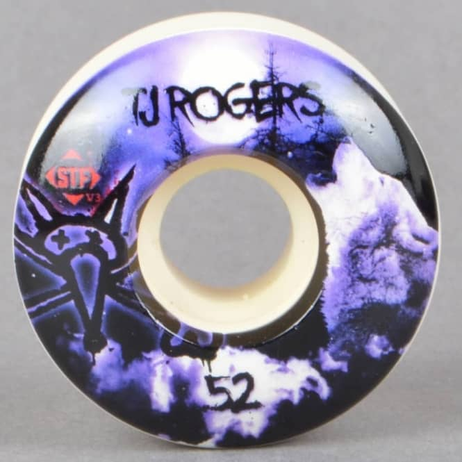 Bones Wheels Rogers Howl V3 STF Skateboard Wheels 52mm